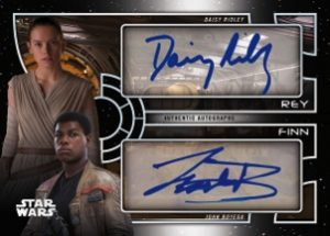 Dual Autographs Rey, Finn