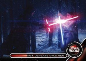 Galactic Moments Rey Defeats Kylo Ren