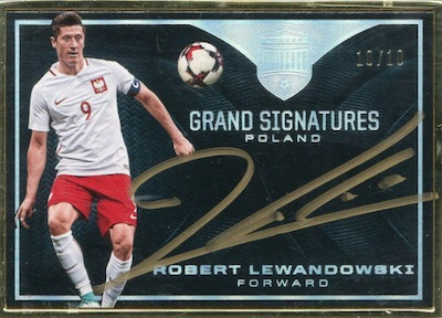 Grand Signatures Robert Lewandowski