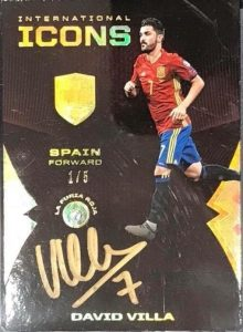 International Icons Diamond Auto David Villa