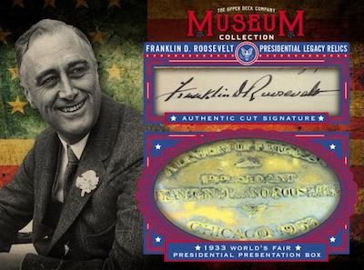 Museum Collection FDR Presidential Legacy Relics 1933 World's Fair Redemption