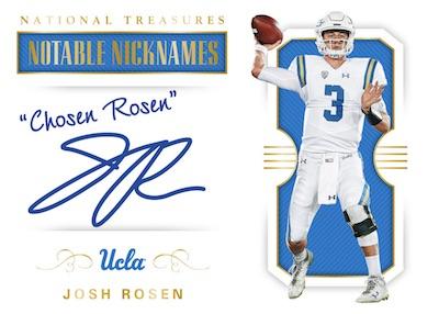 Notable Nicknames Josh Rosen