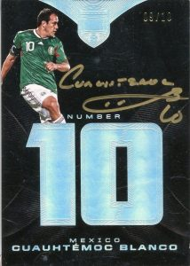 Number 10 Autos Cuauhtemoc Blanco