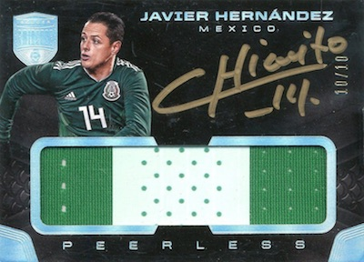 Peerles Patches Auto Javier Hernandez