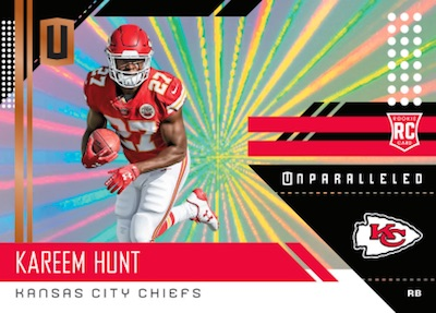 842e88f1ccf 2018 Panini Unparalleled - Football Card Checklist - Checklistcenter.com