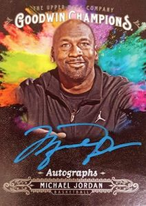 Splash of Color Autos Michael Jordan