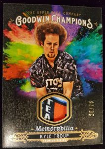 Splash of Color Memorabilia Premium Series Kyle Troup