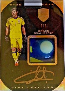 Stud Signatures Iker Casillas