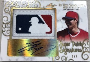 Super Patch Signatures Shohei Ohtani