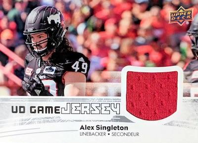 UD Game Jersey Alex Singleton