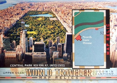 World Travler Map Relics Central Park