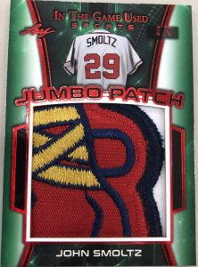 Jumbo Patch John Smoltz