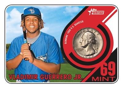1969 Mint Coin Relics Vladimir Guerrero Jr