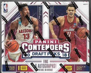 d1cd69b93ed3 2018-19 Contenders Draft Picks - Basketball Card Checklist ...