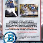 2018 Bowman Chrome Baseball