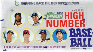 2018 Heritage High Number