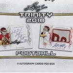 2018 Leaf Trinity Football