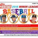 2018 Topps Heritage Minor League