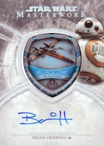 Auto Commemorative Vehicle Patch Black One, Brian Herring as BB-8