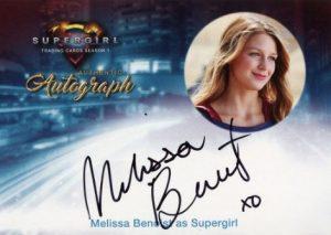 Autographs Melissa Benoist