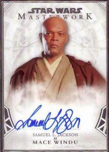 Autographs Samuel L Jackson as Mace Windu
