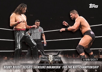 Base Matches and Moments Shinsuke Nakamura, Bobby Roode