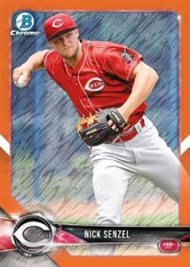 Base Prospects Orange Shimmer Nick Senzel