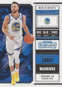 Base Season Ticket Stephen Curry