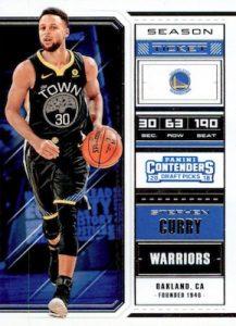 Base Season Ticket Variation Stephen Curry
