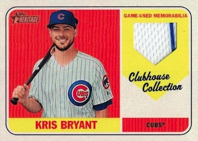 Clubhouse Collection Relics Kris Bryant