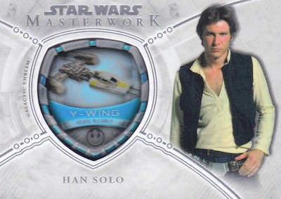 Commemorative Vehicle Patch Y-Wing, Han Solo