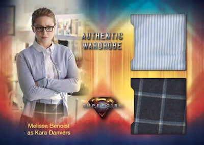 Dual Wardrobe Relics Melissa Benoist