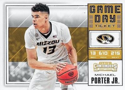 Game Day Ticket Michael Porter Jr