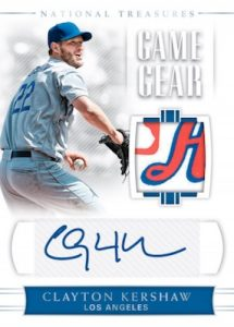 Game Gear Signatures Clayton Kershaw