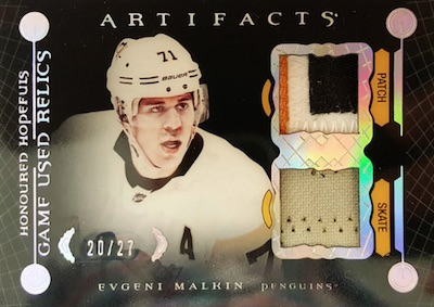 Honoured Hopefuls Relics Evgeni Malkin