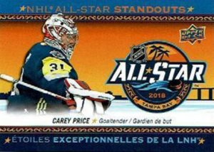 NHL All-Star Standouts Carey Price