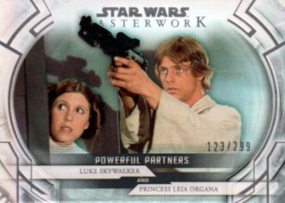 Powerful Partners Luke, Leia