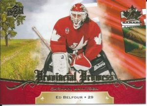 Provincial Prowess Ed Belfour