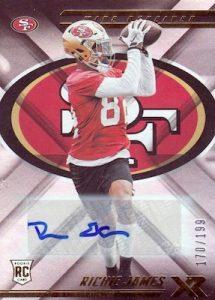 Rookie Autographs Richie James