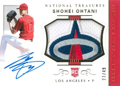 Rookie Materials Signature Shohei Ohtani