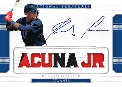 Signature Names Prime Ronald Acuna Jr