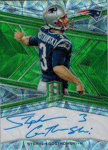 Signatures Neon Green Stephen Gostkowski