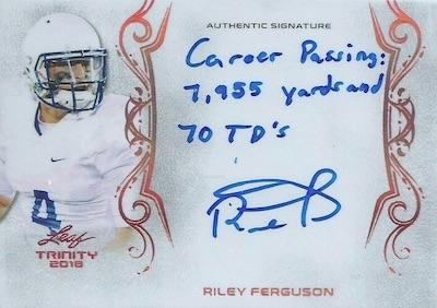 Signatures Riley Ferguson