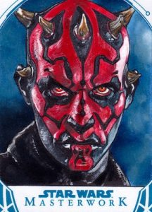 Sketch Darth Maul by Mike James