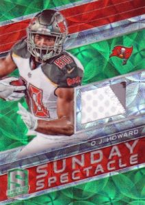 Sunday Spectacle Relics OJ Howard