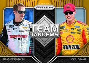 Team Tandems Brad Keslowski, Joey Logano