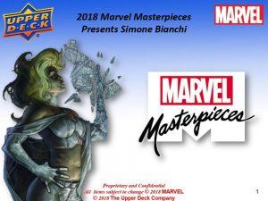 2018 Marvel Masterpieces