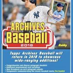 2018 Topps Archives