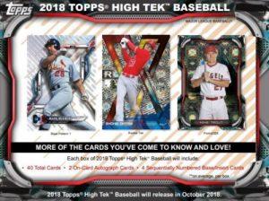 2018 Topps High TEK