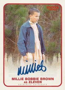 Autographs Millie Bobbie Brown